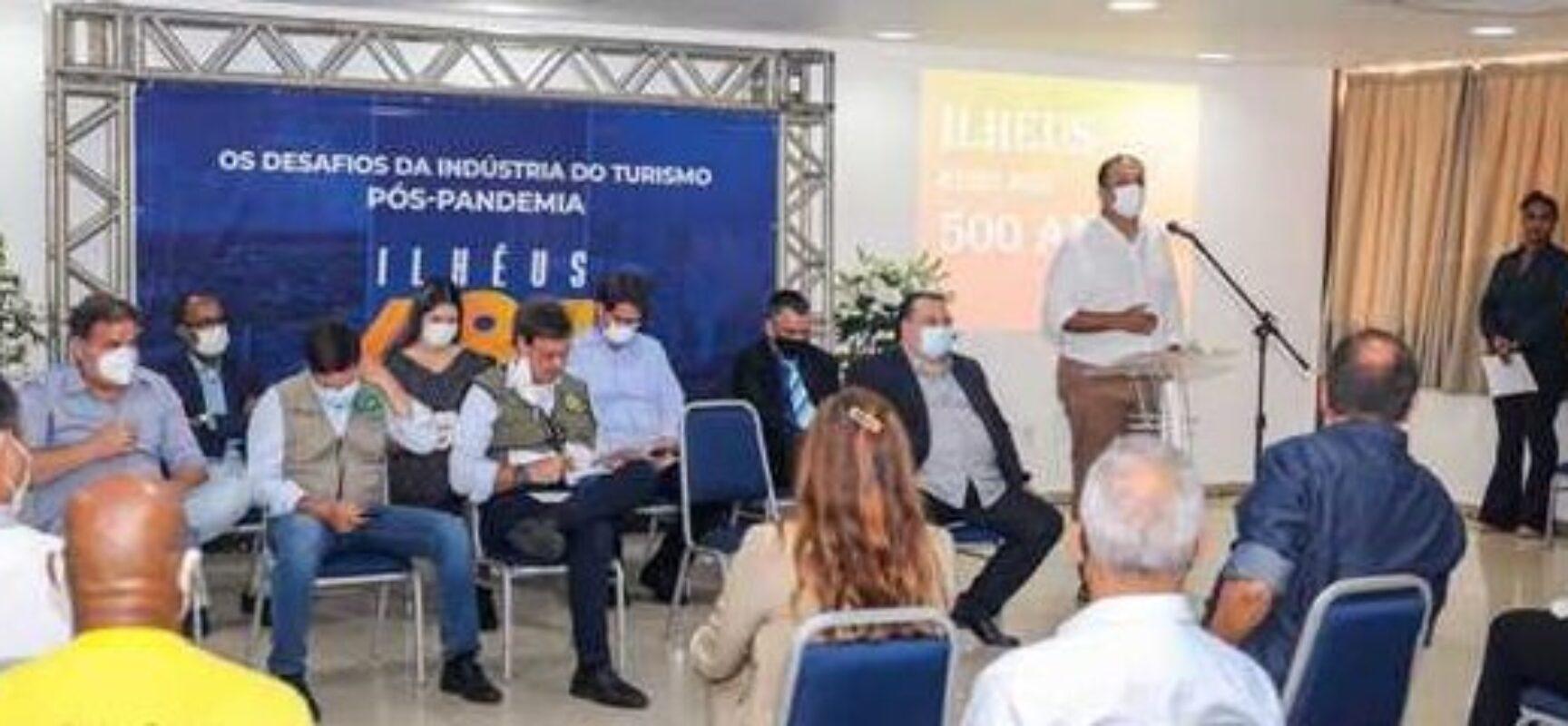 Em Ilhéus, ministros dialogam sobre retomada do turismo na região sul da Bahia