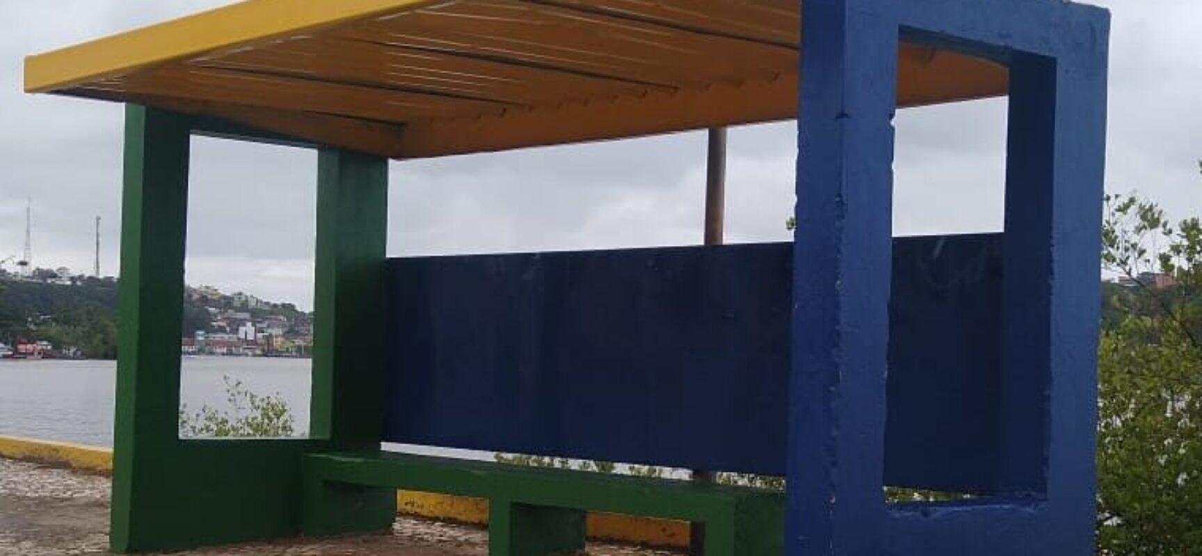 ESCUTA ILHÉUS: Prefeito Marão atende reivindicação e recupera abrigos de ônibus no Pontal