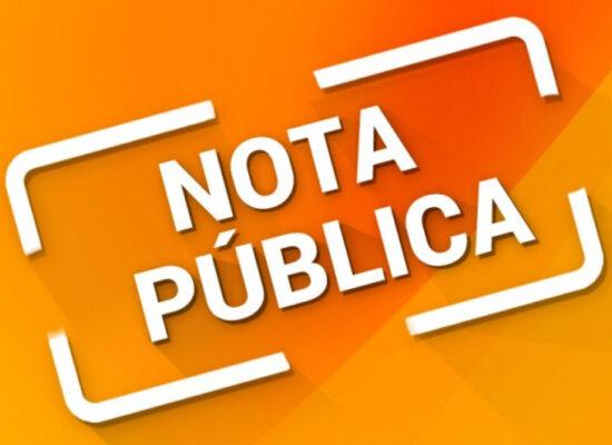 ILHÉUS: NOTA PÚBLICA do PSB, PSD, PSL, PODEMOS e PV