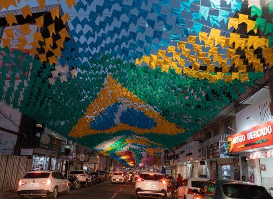 Itabuna em clima junino: FICC promove decoração da cidade para o São João