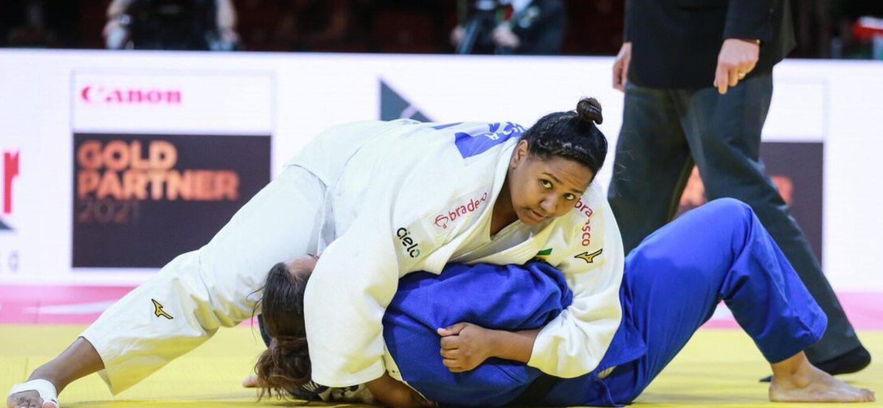 Mundial de Judô: Brasil confirma duas medalhas no peso pesado feminino