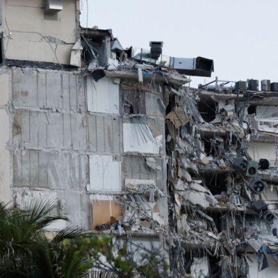 Parte de prédio cai em Miami e deixa pelo menos uma pessoa morta