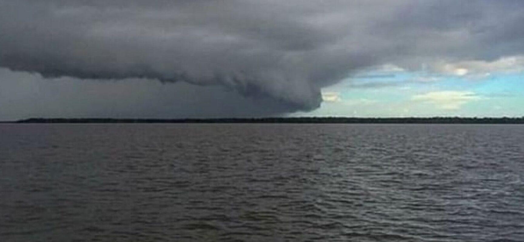 Passagem de ciclone subtropical pode provocar ventos de 33 Km/h no extremo sul da Bahia