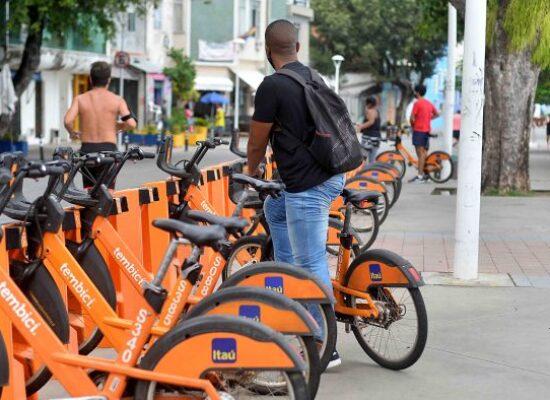 População pode contar com bikes compartilhadas gratuitas para vacinação