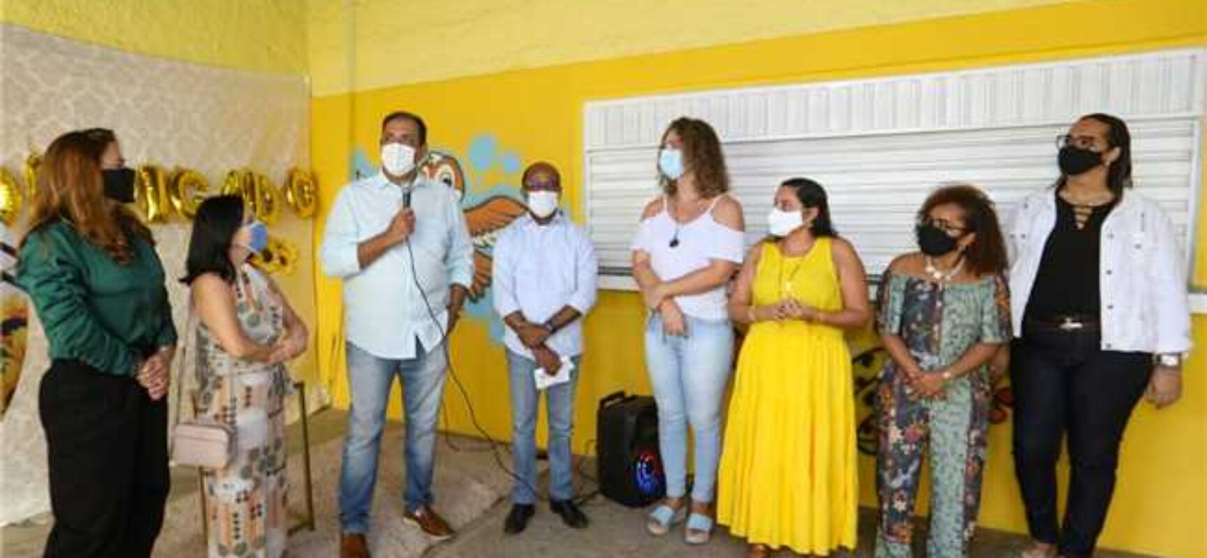 Prefeito Mário Alexandre entrega Escola Paulo Freire, do Teotônio Vilela, totalmente reformada para