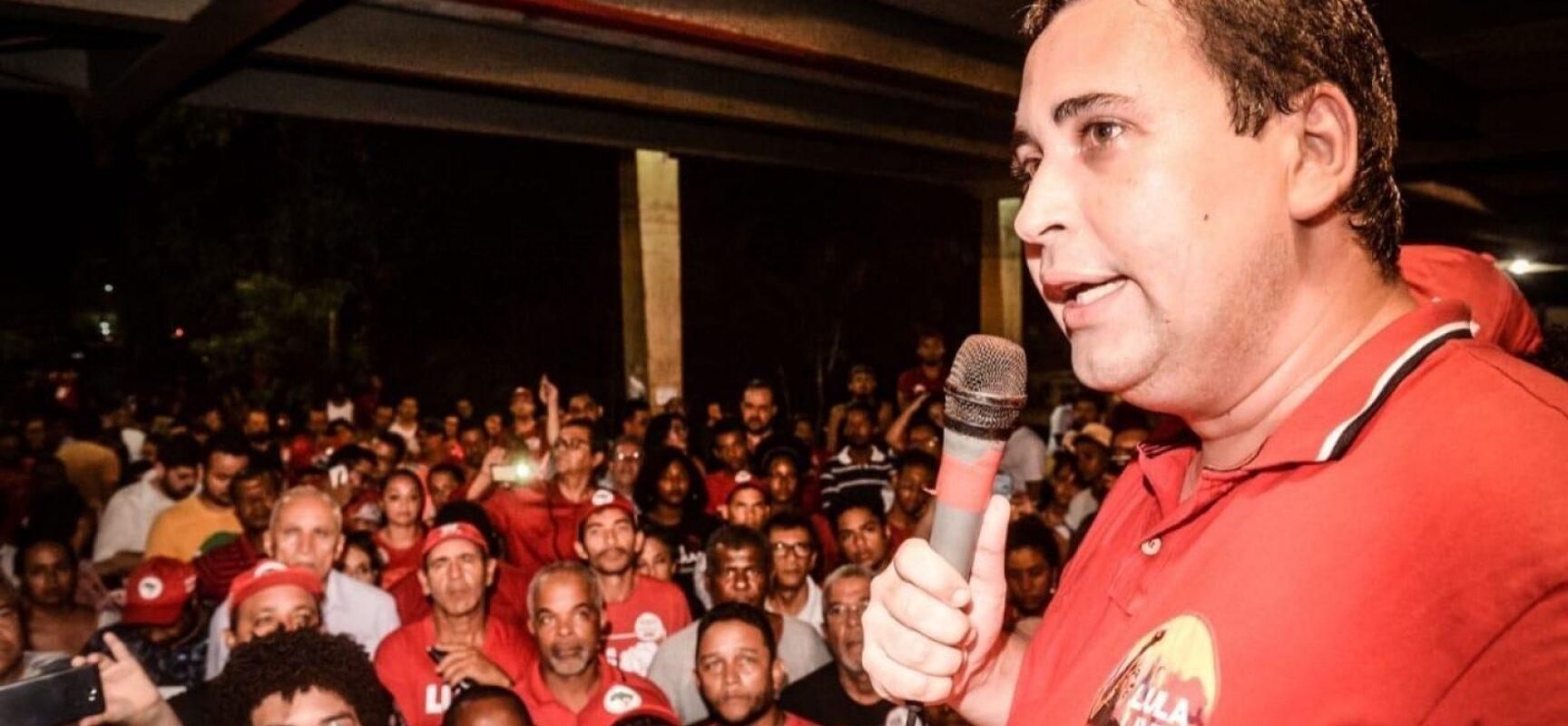 Presidente do PT-BA critica encontro entre Bruno Reis e Bolsonaro e ataca ACM Neto