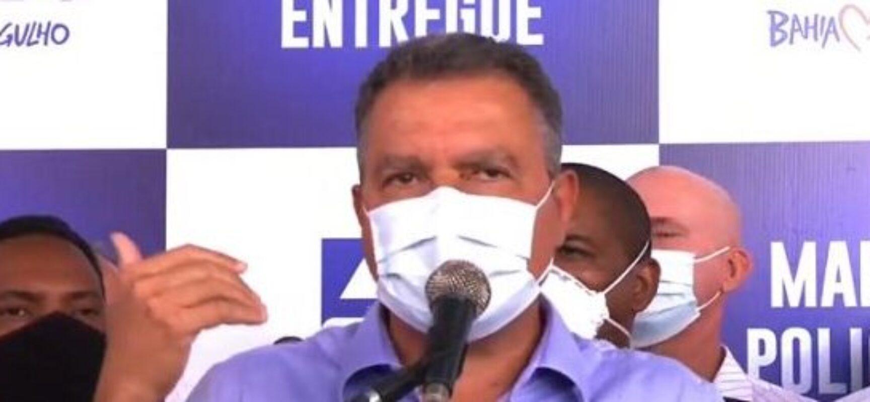 """Rui Costa se preocupa com aglomeração no São João e faz um alerta: """"Julho pode ser pior que março"""""""