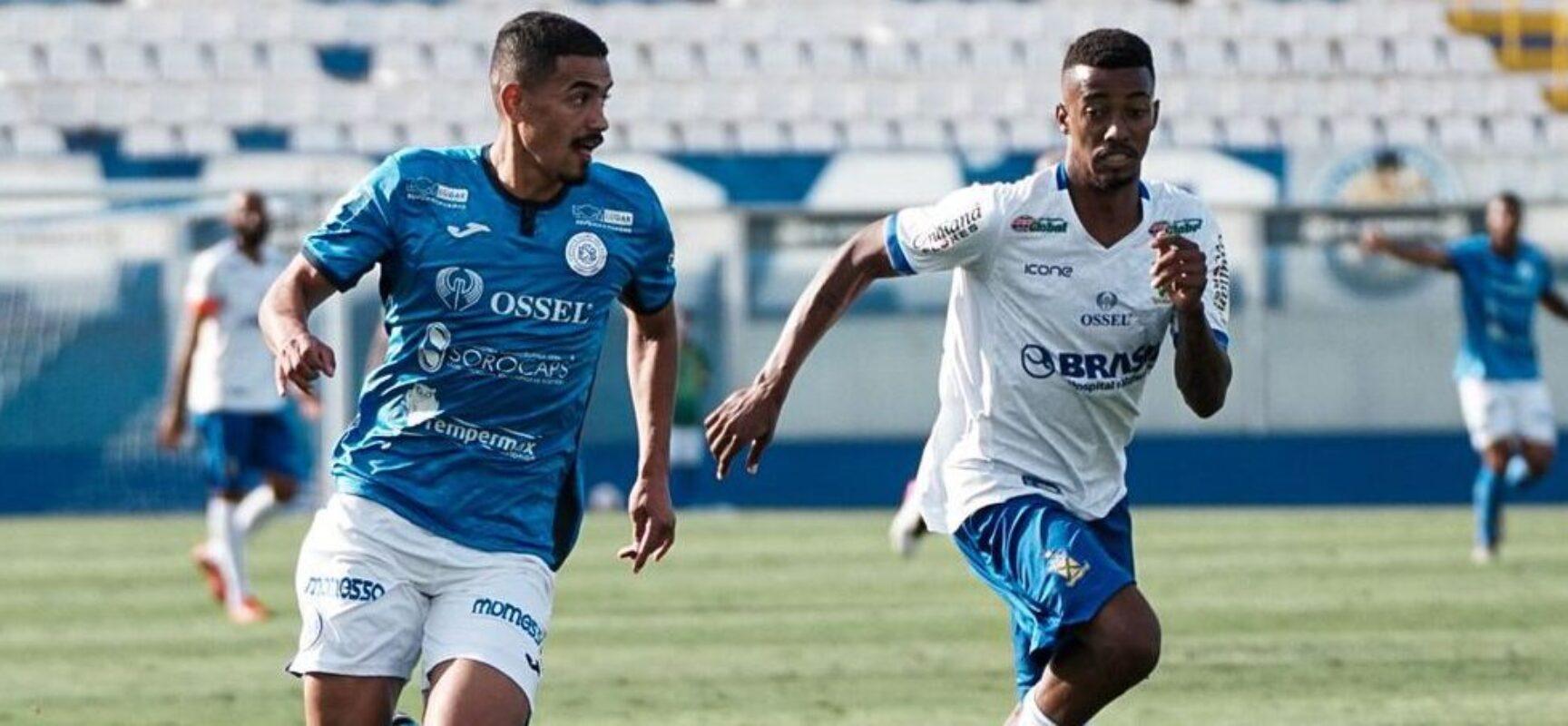 Santo André e São Bento empatam em 1 a 1 pela Série D
