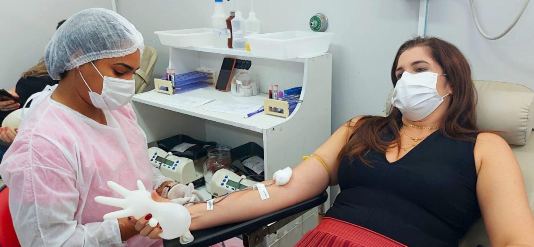 Servidores da Prefeitura de Itabuna abraçam campanha de doação de sangue