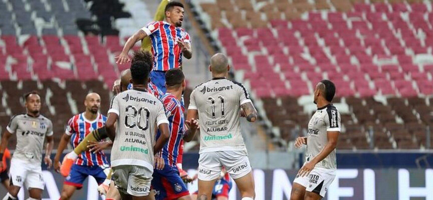 STJD pune jogadores de Bahia e Ceará por briga na final da Copa do Nordeste