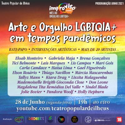 Sugestão de pauta: TPI reúne mais de 20 artistas em celebração ao Dia do Orgulho LGBTQIA+ nesta segunda