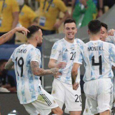 Argentina vence o Brasil, quebra jejum de 28 anos e vira maior campeã da Copa América