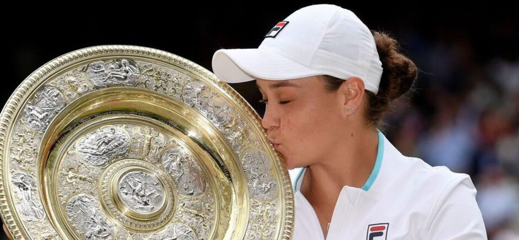 Ash Barty encerra espera australiana por título feminino em Wimbledon