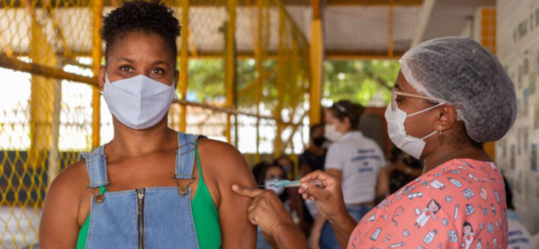 Bahia ultrapassa os 5 milhões de vacinados com 1ª dose e dose única contra Covid