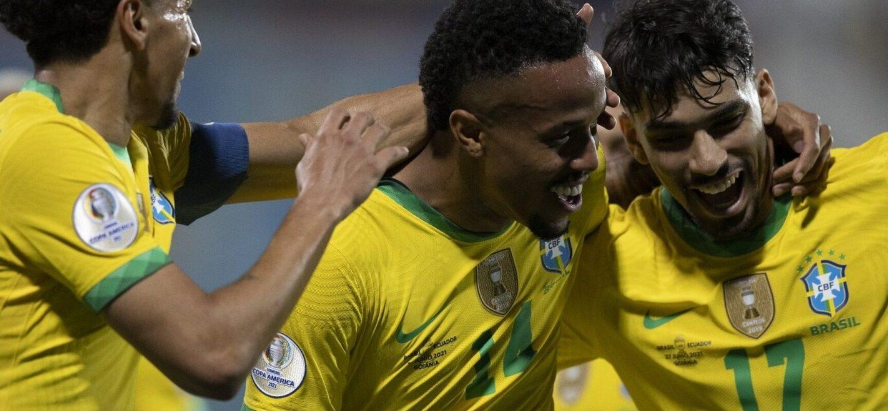 Brasil e Chile se enfrentam nas quartas de final da Copa América