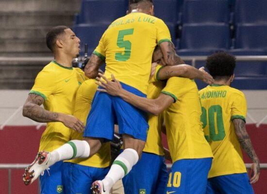 Brasil vence Egito por 1 a 0 e avança às semifinais nas Olimpíadas
