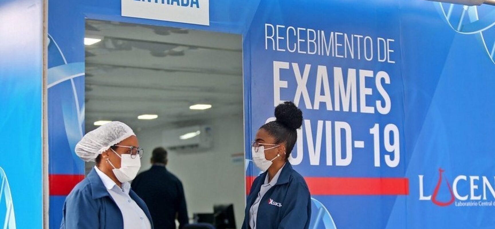 Covid-19: Salvador registra 168 novos casos e 8 mortes pela doença
