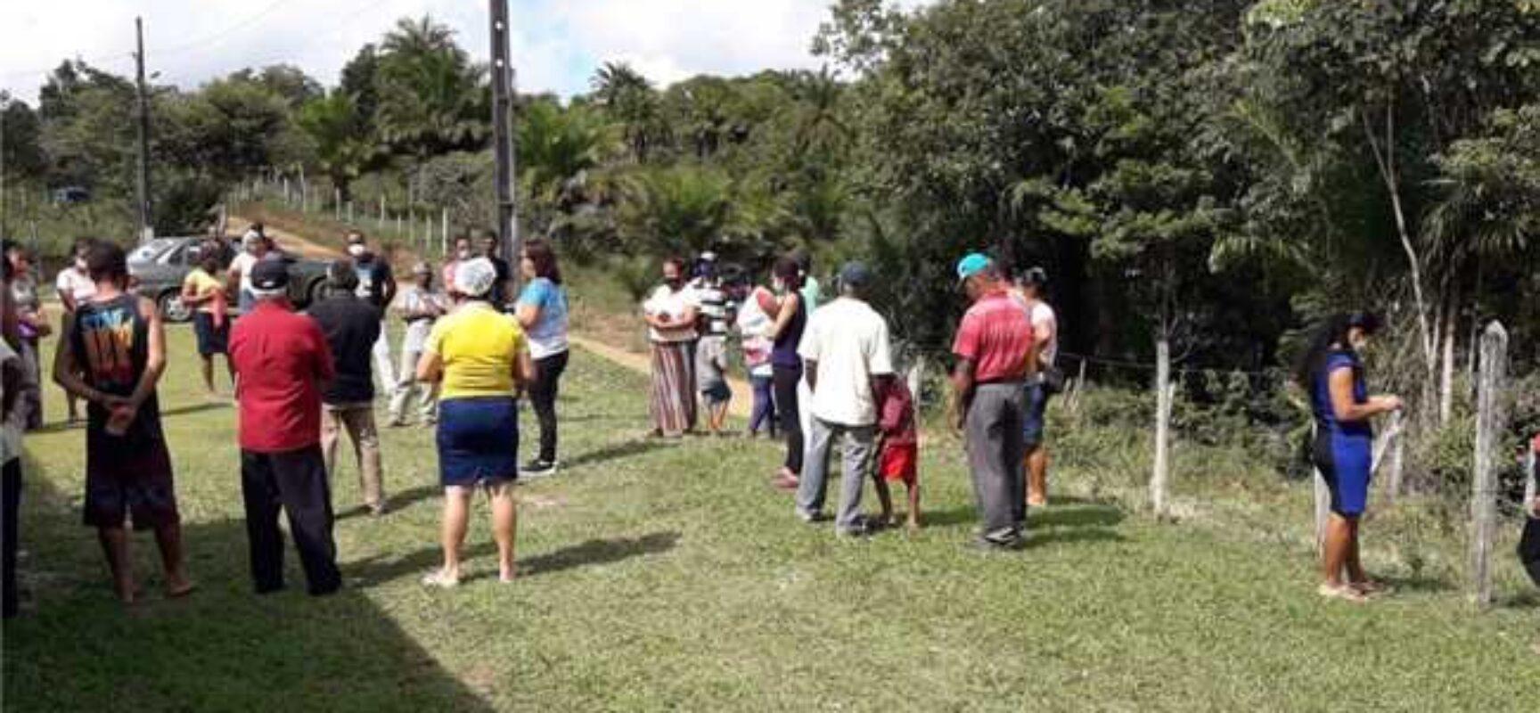 Covid-19: Saúde vacina 401 pessoas da zona rural em três dias