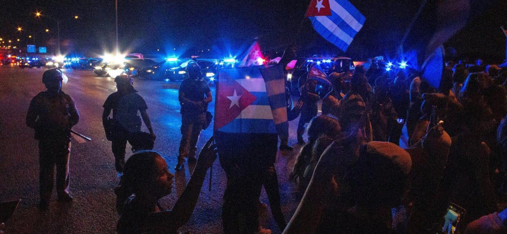 Cuba diz que protestos foram resultado de operação 'político-midiática' dos EUA