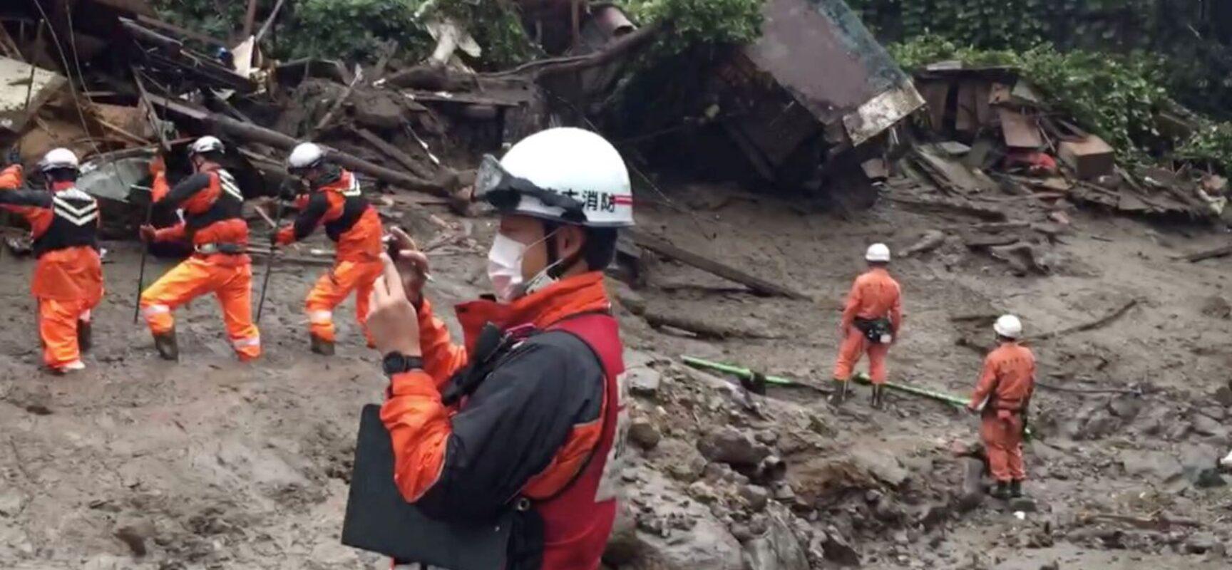 Deslizamento de terra no Japão deixa pelo menos quatro mortos