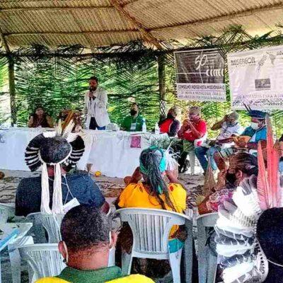 Em evento com índios Tupinambá, presidente da Câmara destaca importância da luta pela preservação cultural e do meio ambiente