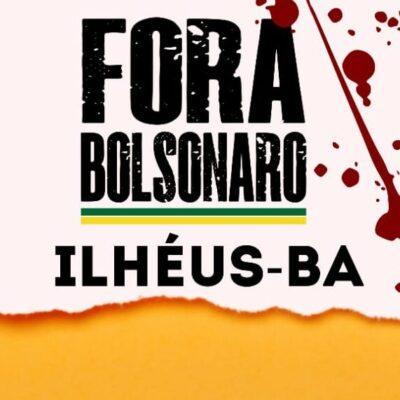 Em Ilhéus, protesto contra Bolsonaro nesse sábado também arrecadará alimentos