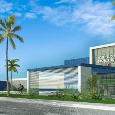 Governo do Estado publica licitação para construir hospital com 220 leitos. Hospital Regional Costa das Baleias (HRCB)