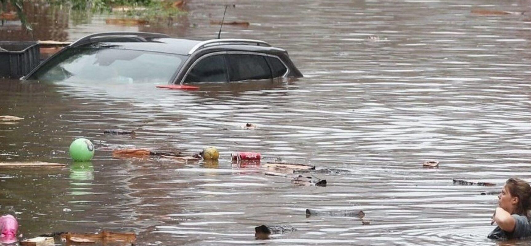 Grande volume de chuva causa enchentes, destruição e mortes na Europa