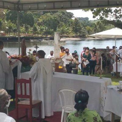 Ilhéus: Comunidade do Rio do Engenho comemora 487 anos com festa memorial à Santa Anna e S. Joaquim