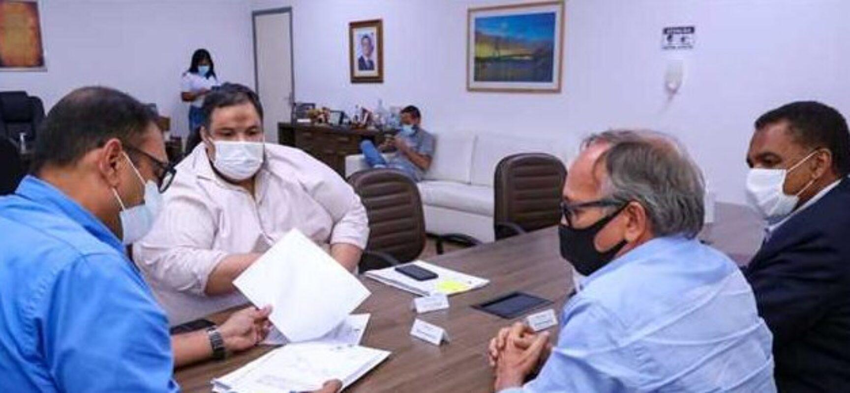 ILHÉUS: Prefeito Mário Alexandre recebe ZPE Bahia para retomada das atividades após novo marco legal