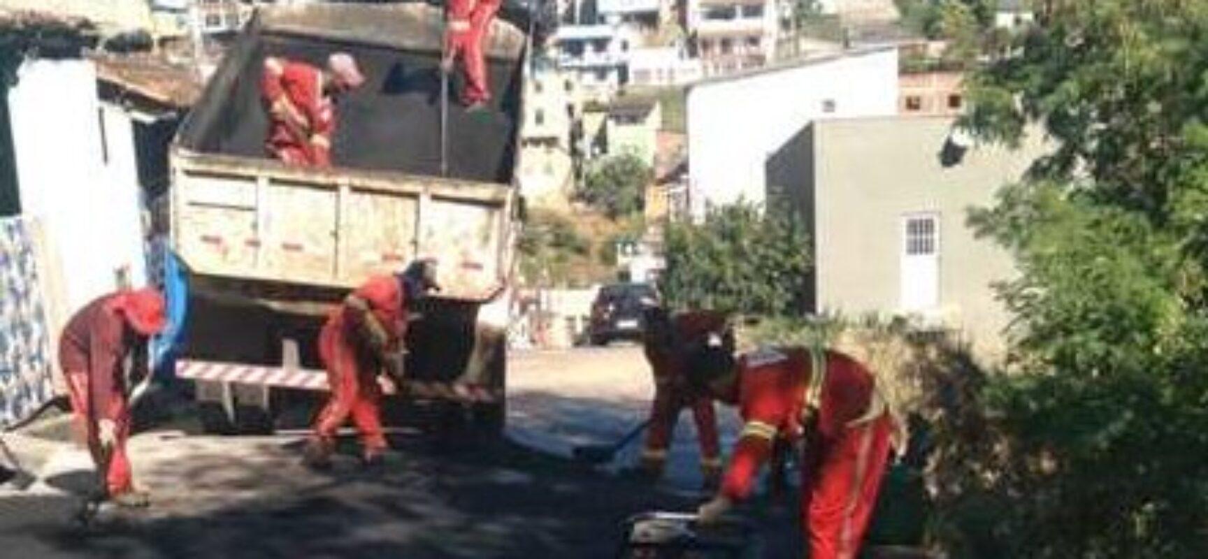 Ilhéus: Prefeitura continua operação Tapa Buracos em vários pontos da cidade