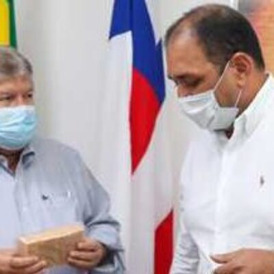 Ilhéus: Reunião com secretário nacional discute ampliação do saneamento básico no município