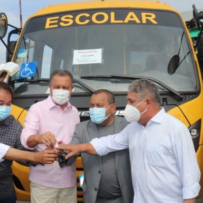 Itacaré recebe um novo ônibus para o transporte dos alunos