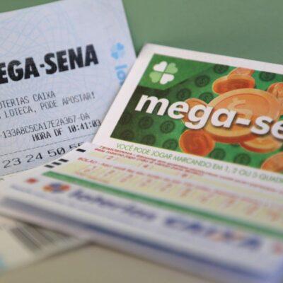 Mega-Sena acumula e pode pagar prêmio de R$ 12 milhões na quarta-feira