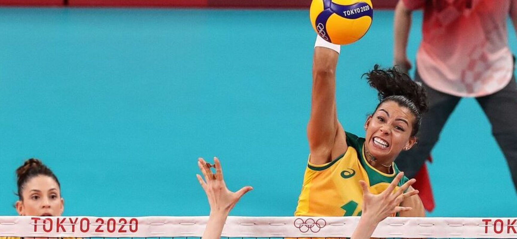 No vôlei feminino, Brasil vence Coreia do Sul na estreia olímpica