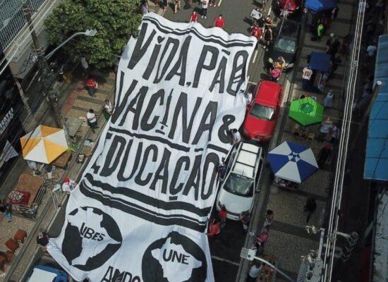 Novo protesto contra Bolsonaro acontece em todo o país neste sábado