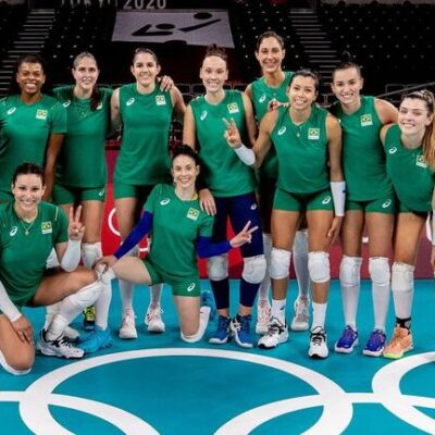 Olimpíada: seleção feminina de vôlei estreia neste domingo em Tóquio