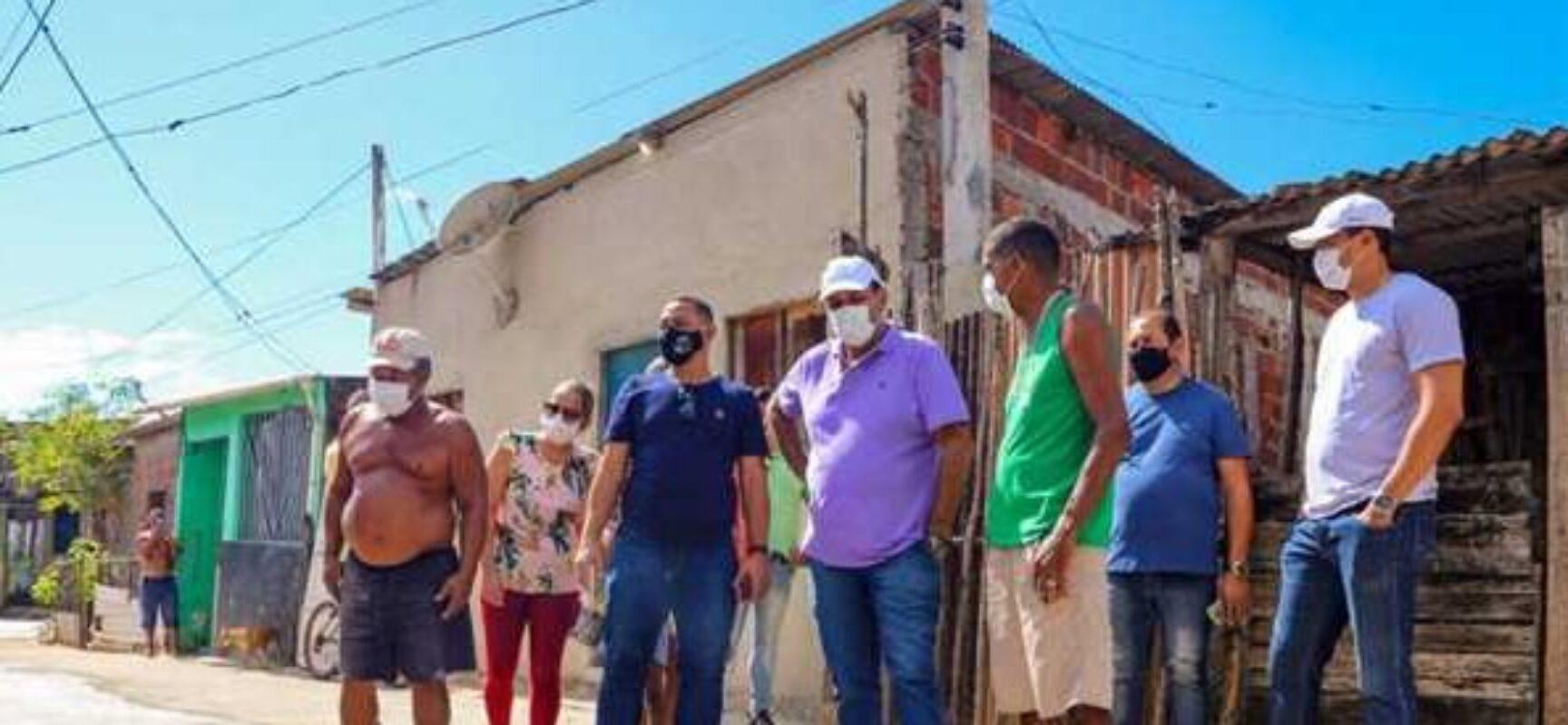 Prefeito Mário Alexandre cumpre agenda no final de semana em visita às estradas rurais de Ilhéus
