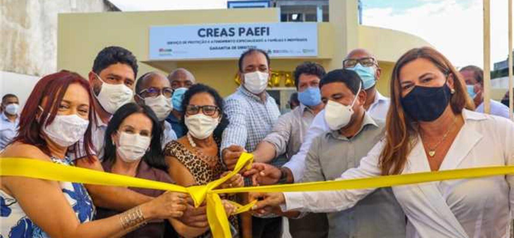 Prefeitura entrega prédio próprio do CREAS-PAEF construído para assistir pessoas vulneráveis