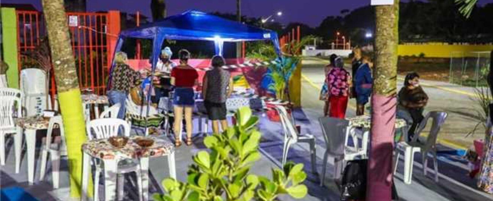 Prefeitura recupera área do antigo lixão e devolve rua e praça à comunidade do Hernani Sá