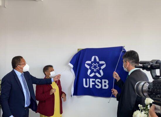 Presidente da Amurc reforça o apoio da instituição em inauguração da nova sede da UFSB