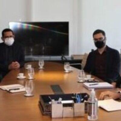 Representantes do Fecomércio se reune com o Secretário Bento Lima e Primeira-dama de Ilhéus, Soane Galvão