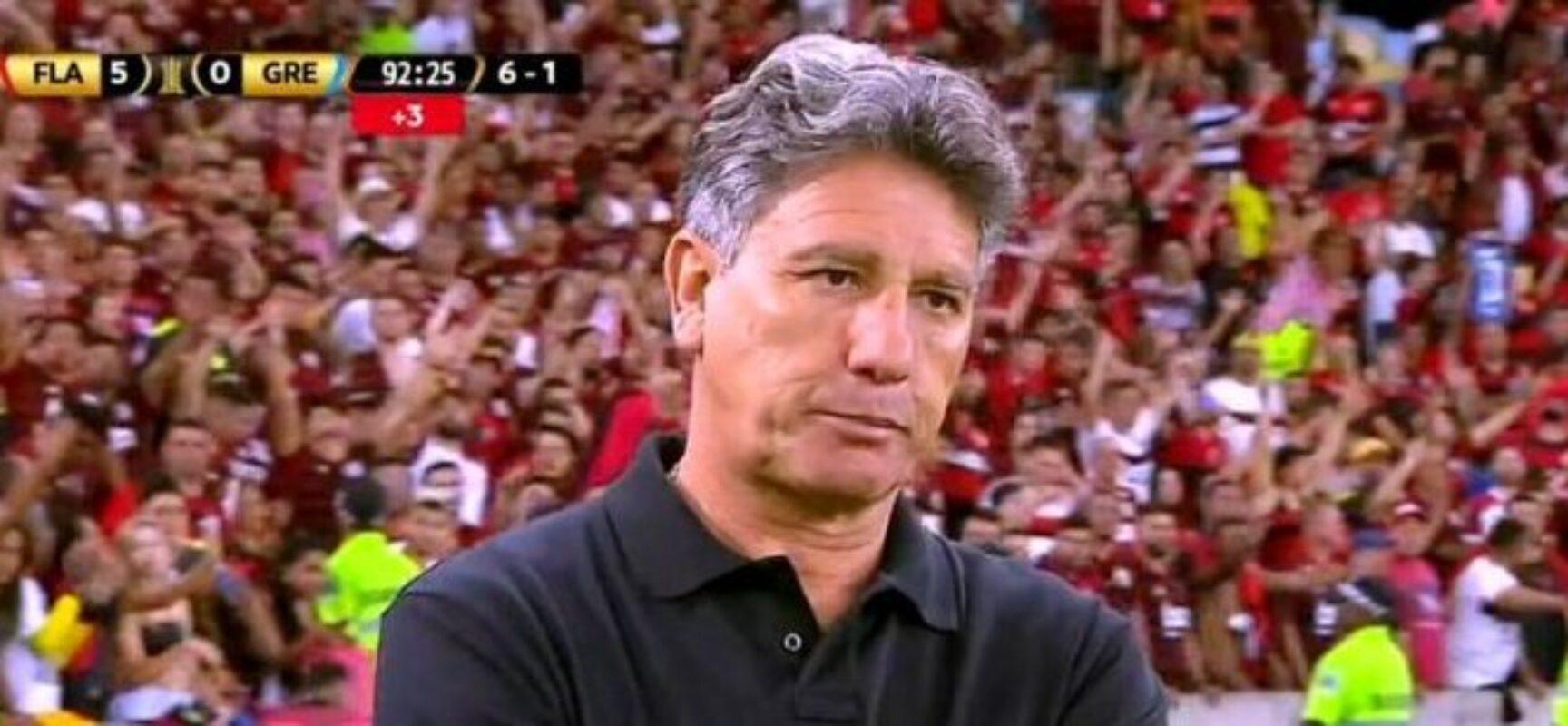 ROGÉRIO CENI CAI. Renato Gaúcho é o novo técnico do Flamengo