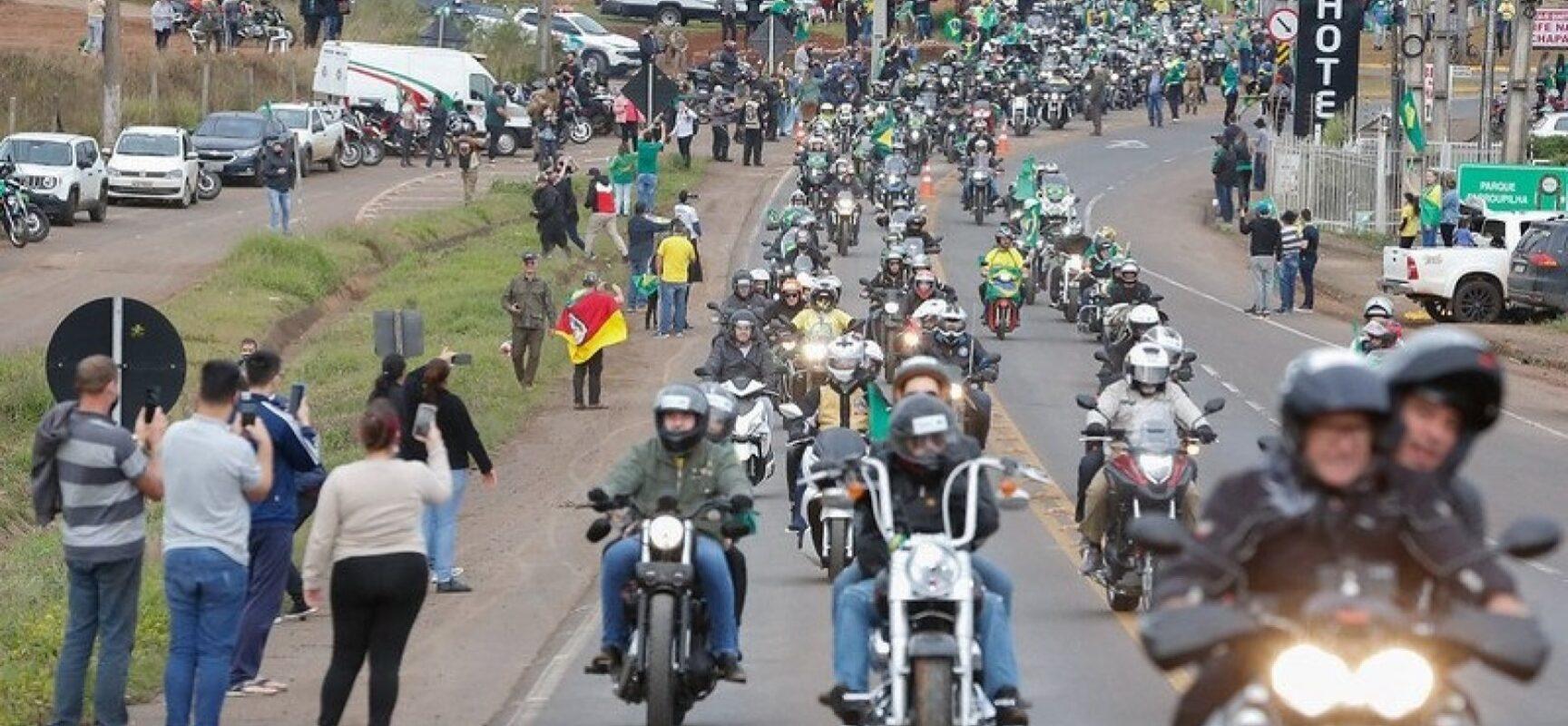 Sem Bolsonaro, apoiadores confirmam motocorreata no 2 de Julho com adesão de 50 cidades