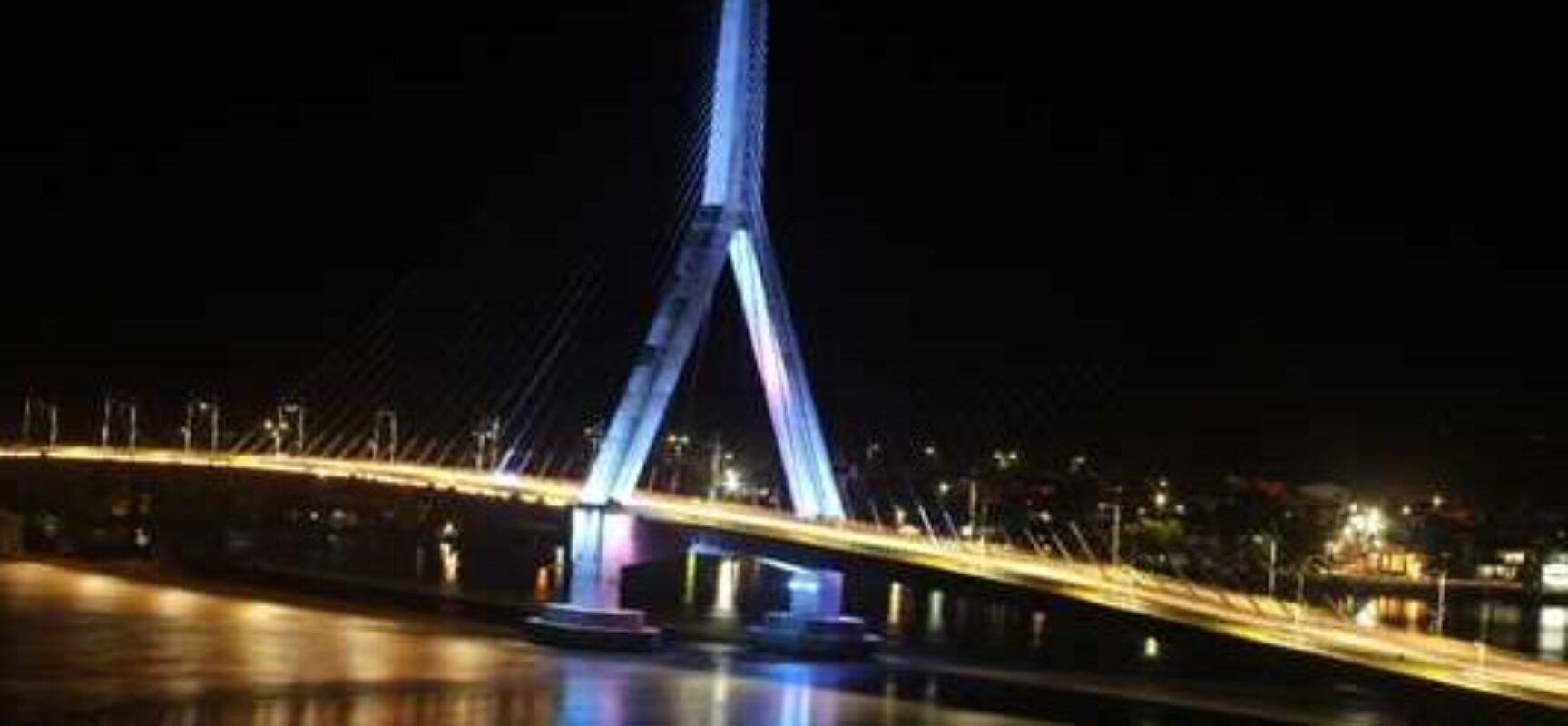 """""""Um ano da nova ponte é fruto de muito trabalho para esse sonho ser hoje real"""", afirma o prefeito"""