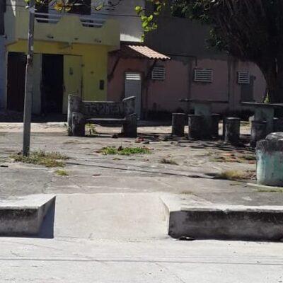 Vereador Edvaldo Gomes solicita pavimentação asfáltica de Rua e revitalização da Praça Dr. Francolino Neto