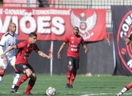 """Vitória amplia """"jejum"""" e perde por 1 a 0 para o Brasil de Pelotas"""