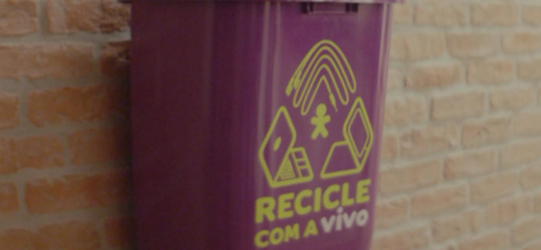 Vivo realiza ação do Recicle com a Vivo em Trancoso