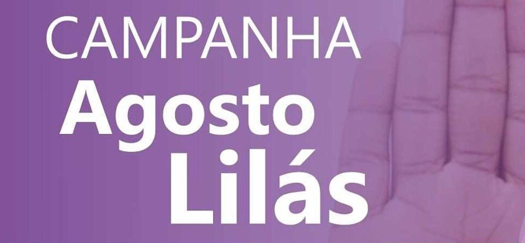AGOSTO LILÁS: Prefeitura de Ilhéus promove campanha de combate à violência contra a mulher