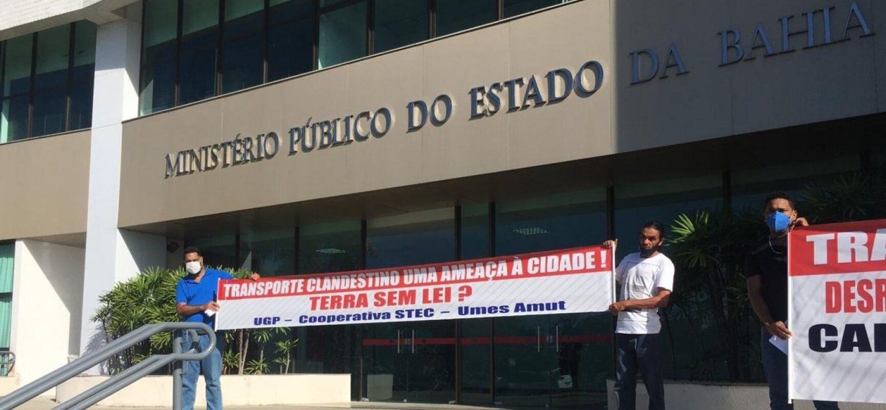 Após pressão popular, Ministério Público notifica Estado da Bahia e prefeitura de Salvador para tratar de transporte clandestino